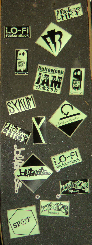 Halloween Jam 2012 Sticker